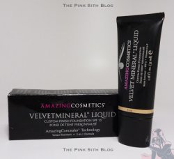 Pink Sith: Foundation Fridays: Amazing Cosmetics Velvet Mineral